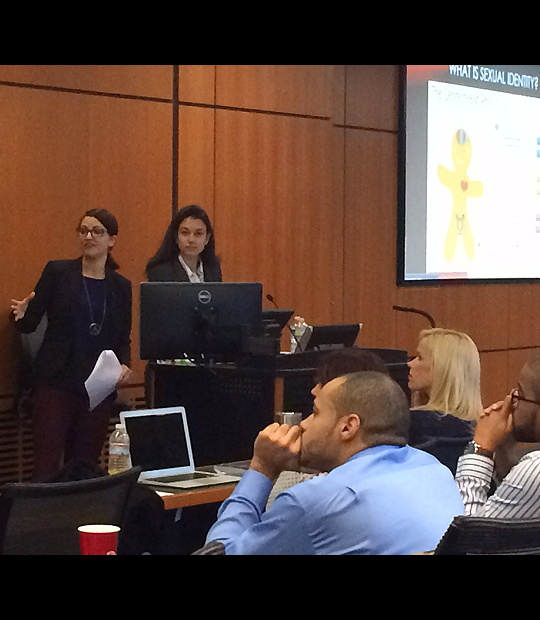 CMHD students present at the UofL med school 2015